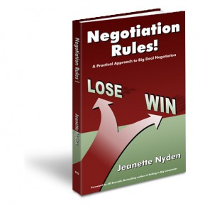 Negotiation Rules! Book Cover