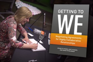 Getting to WE Book Signing
