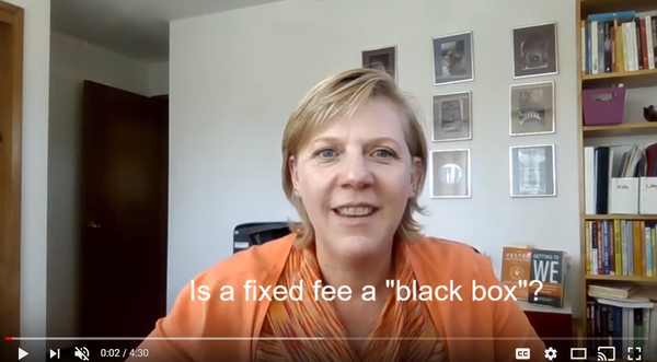 Is a fixed fee a black box?